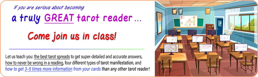 Learn how to get 3 to 5 times MORE information from your cards than any tarot reader you ever meet
