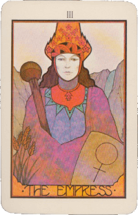 The Empress – Pink Aquarian Tarot Deck