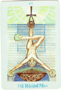 The Hanged Man Card – The Crowley Thoth Tarot Deck