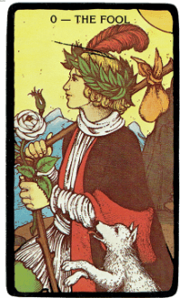 The Fool – The Morgan Greer Black Border Tarot Deck