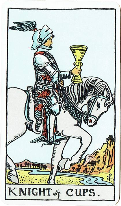 Knight of Cups — Rider Deck Blue Box