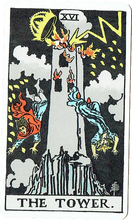 The Tower — Rider Deck Blue Box