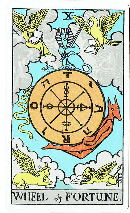 Wheel of Fortune — Rider Deck Blue Box